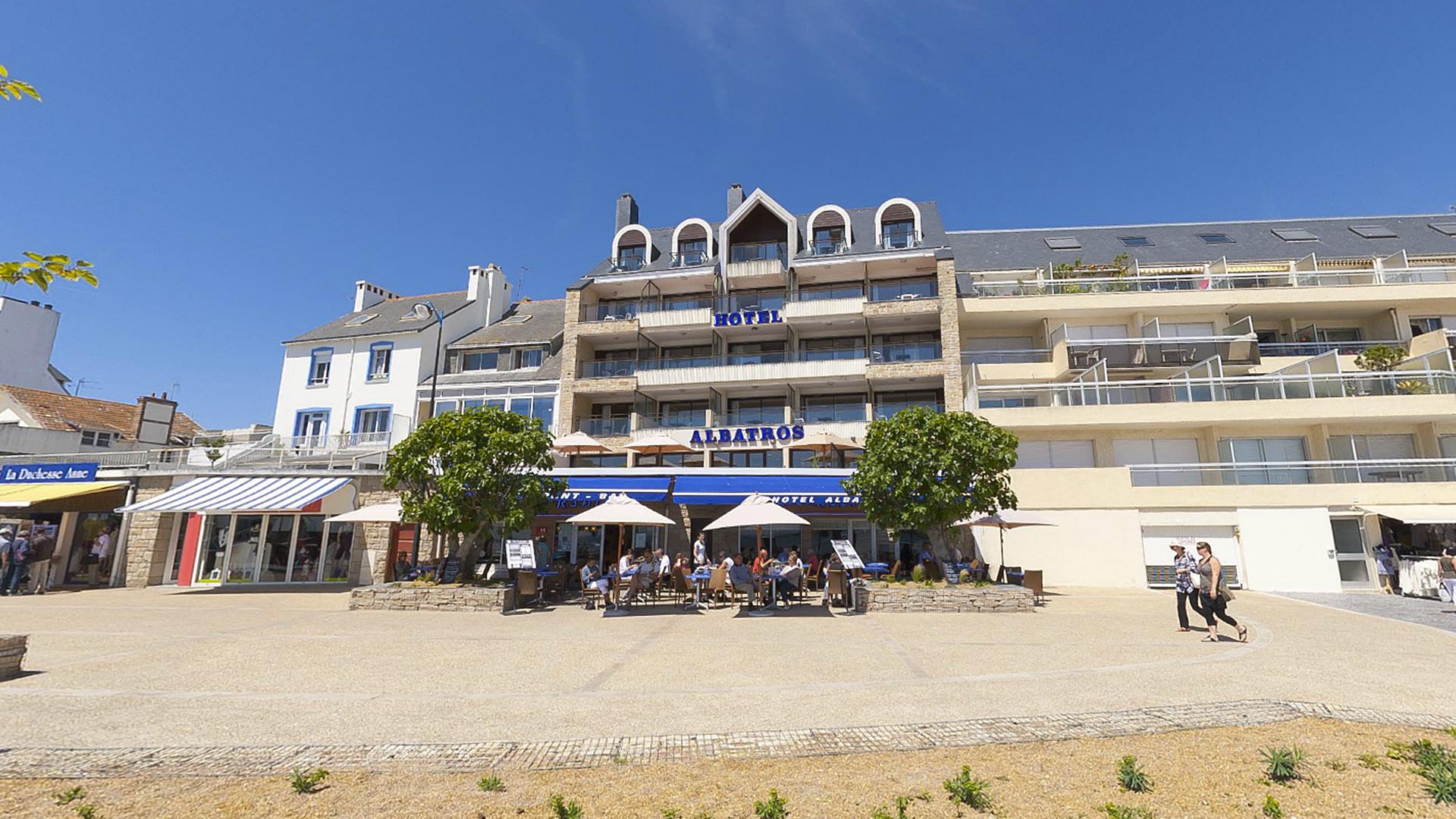 hotel quiberon vue mer